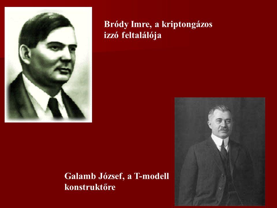 Bródy Imre, a kriptongázos