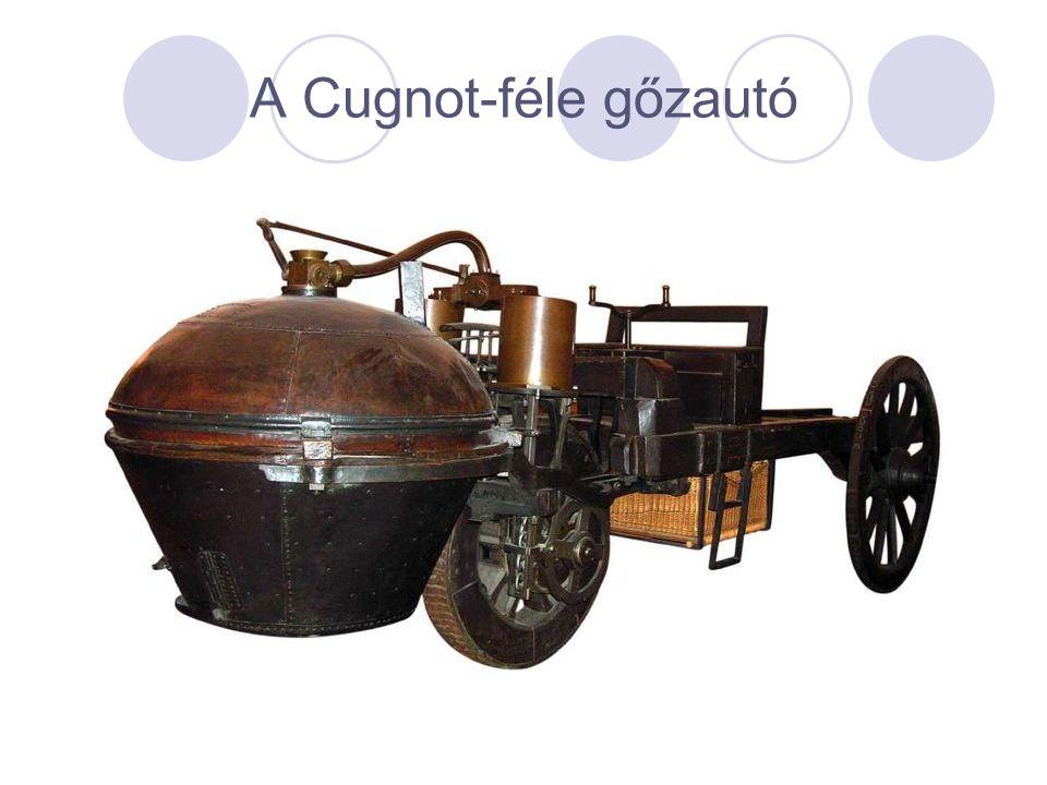 A Cugnot-féle gőzautó