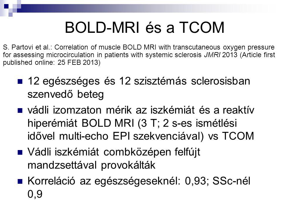 BOLD-MRI és a TCOM