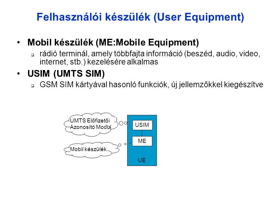 Felhasználói készülék (User Equipment)