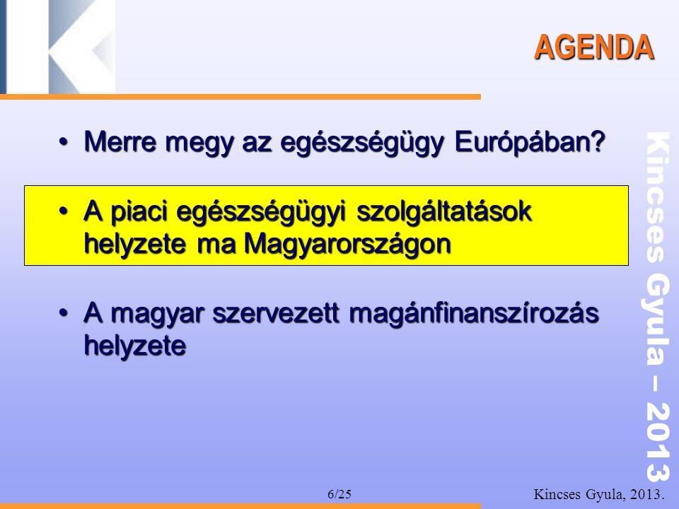 AGENDA Merre megy az egészségügy Európában
