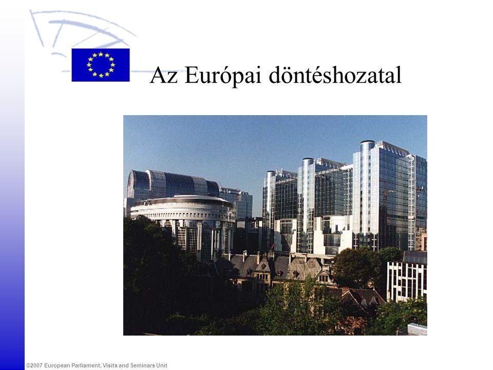 Az Európai döntéshozatal