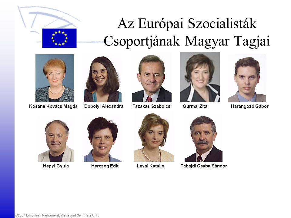 Az Európai Szocialisták Csoportjának Magyar Tagjai