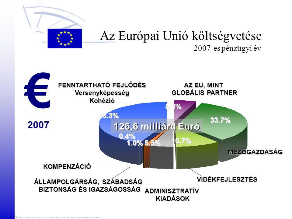 Az Európai Unió költségvetése 2007-es pénzügyi év