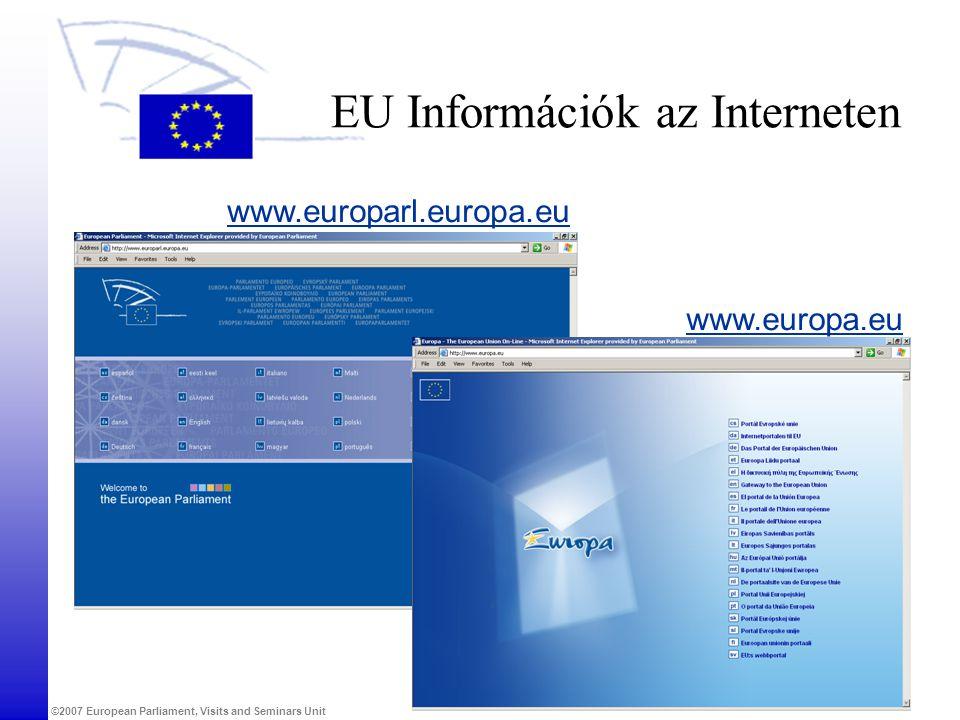 EU Információk az Interneten