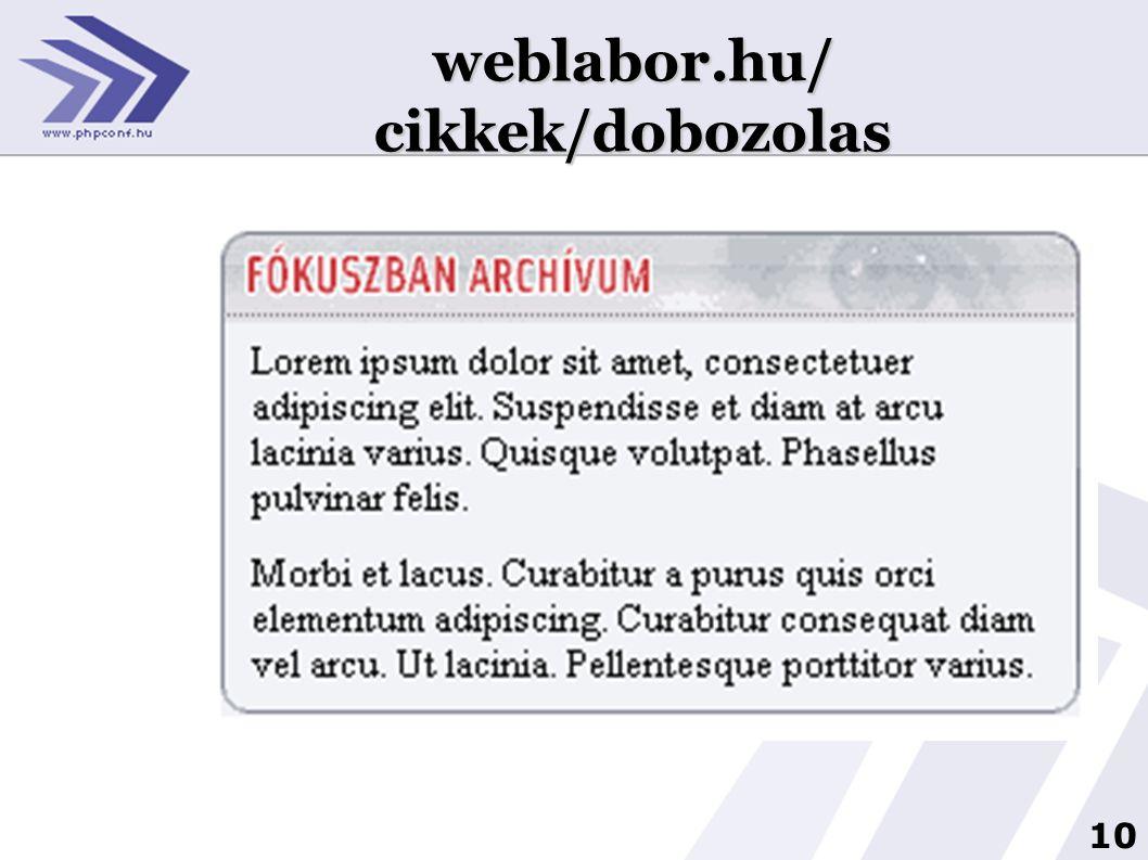 weblabor.hu/ cikkek/dobozolas