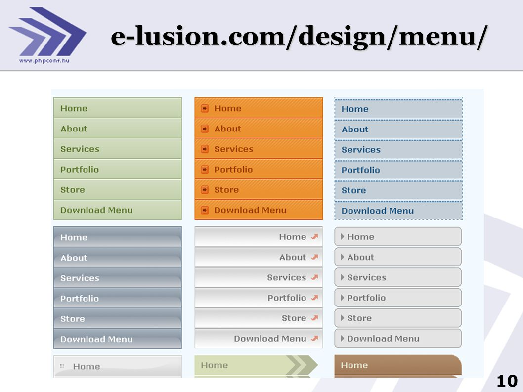 e-lusion.com/design/menu/