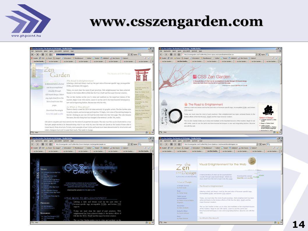 www.csszengarden.com
