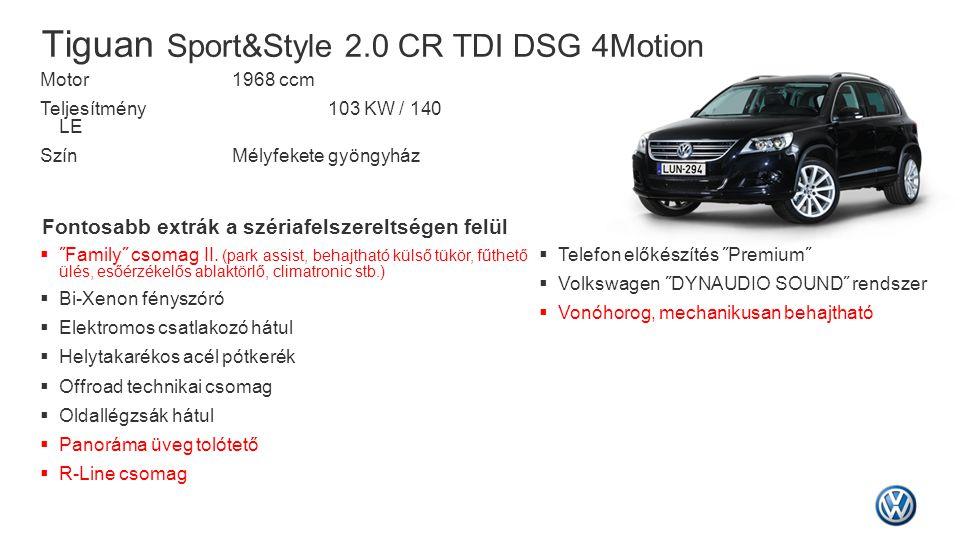 Tiguan Sport&Style 2.0 CR TDI DSG 4Motion