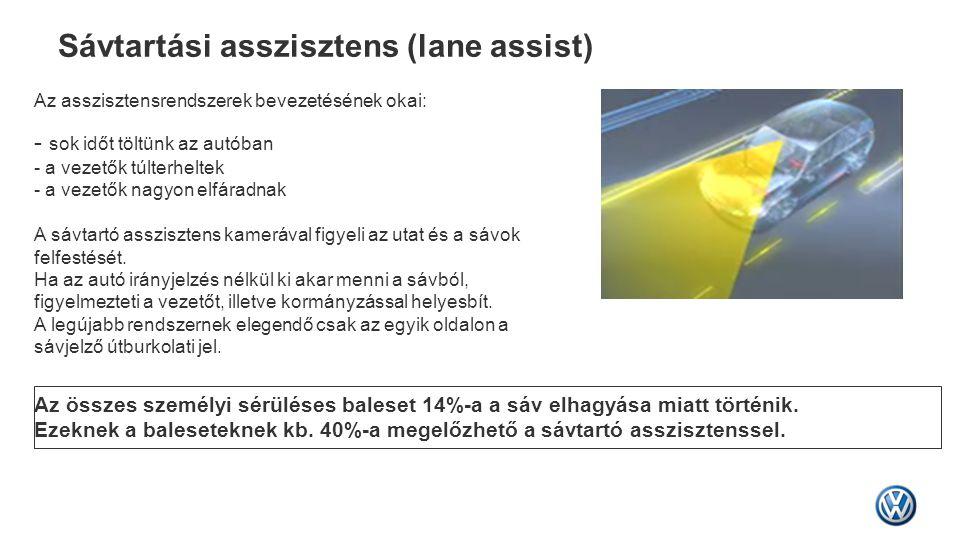 Sávtartási asszisztens (lane assist)