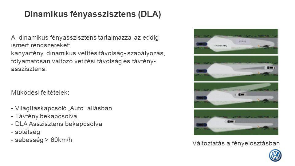 Dinamikus fényasszisztens (DLA)
