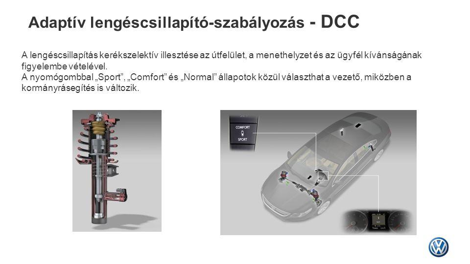 Adaptív lengéscsillapító-szabályozás - DCC