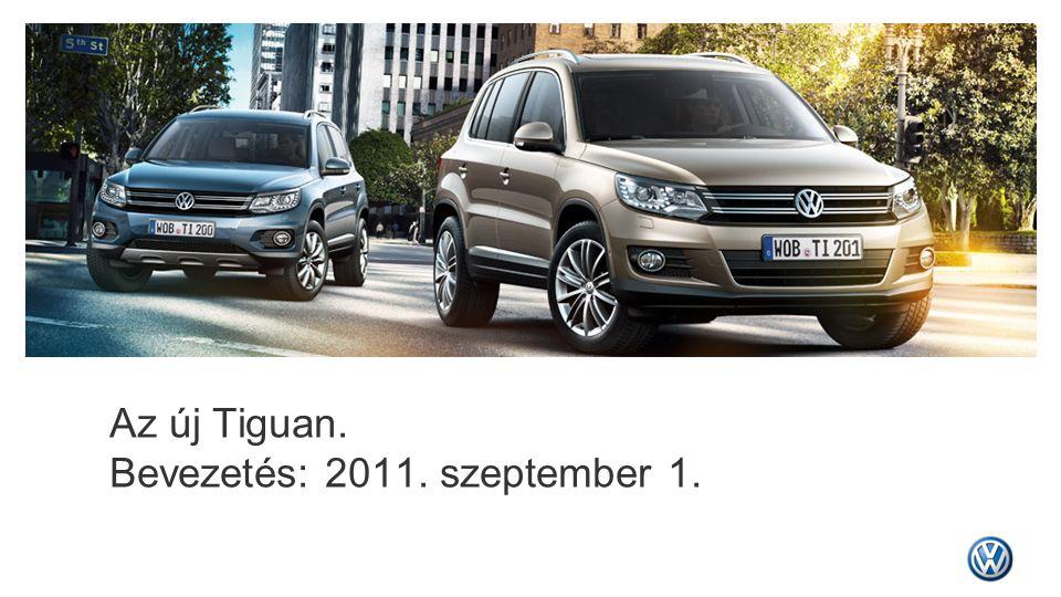 Az új Tiguan. Bevezetés: 2011. szeptember 1.