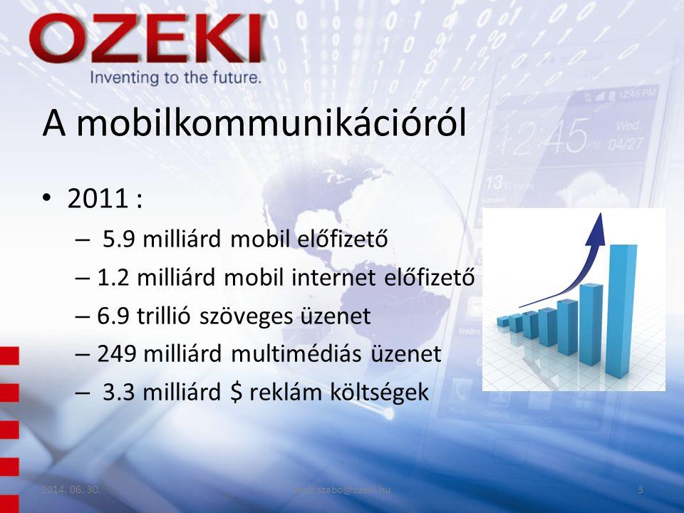 A mobilkommunikációról