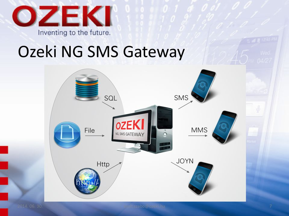 Ozeki NG SMS Gateway 2017.04.03. zsolt.szabo@ozeki.hu