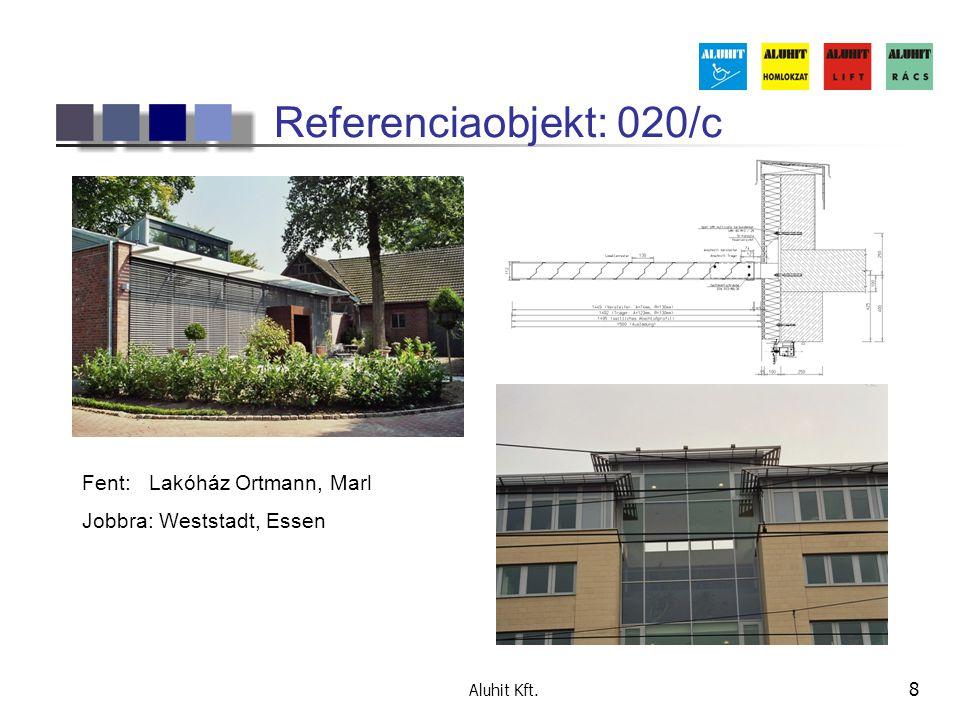 Referenciaobjekt: 020/c Fent: Lakóház Ortmann, Marl