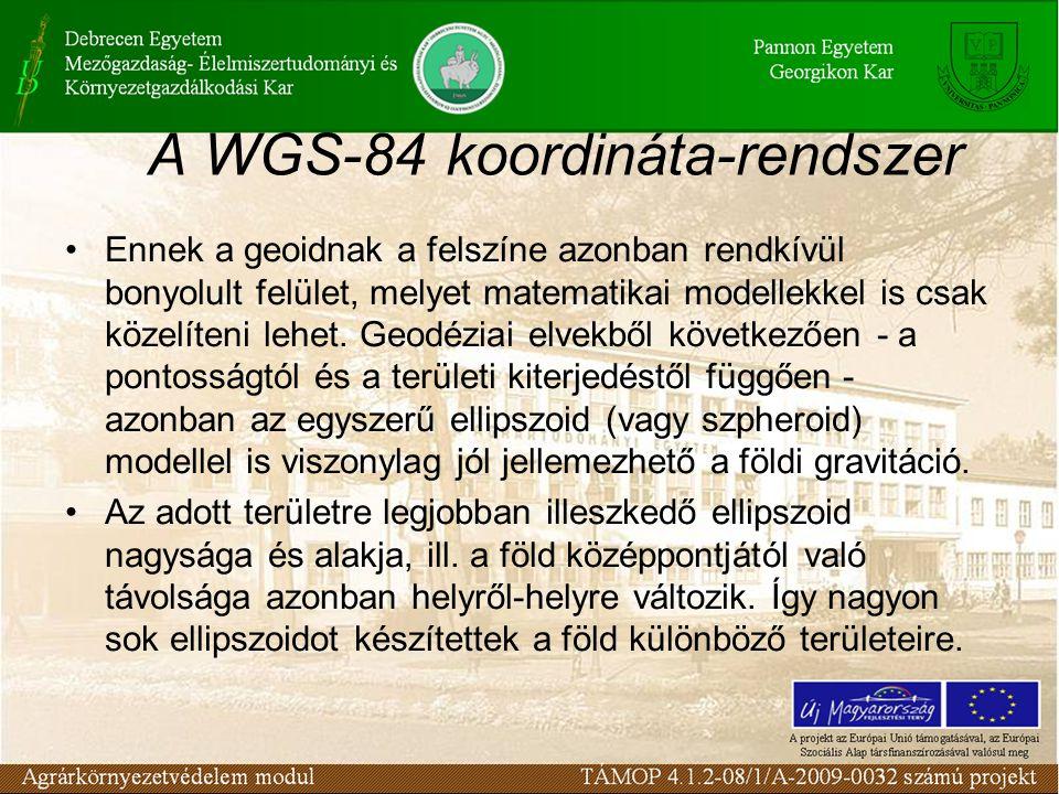 A WGS-84 koordináta-rendszer