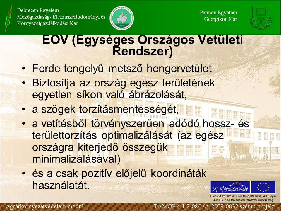 EOV (Egységes Országos Vetületi Rendszer)