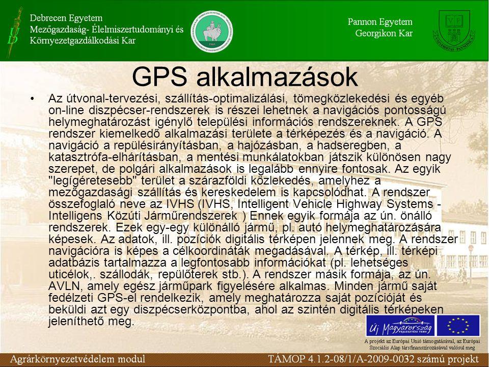 GPS alkalmazások
