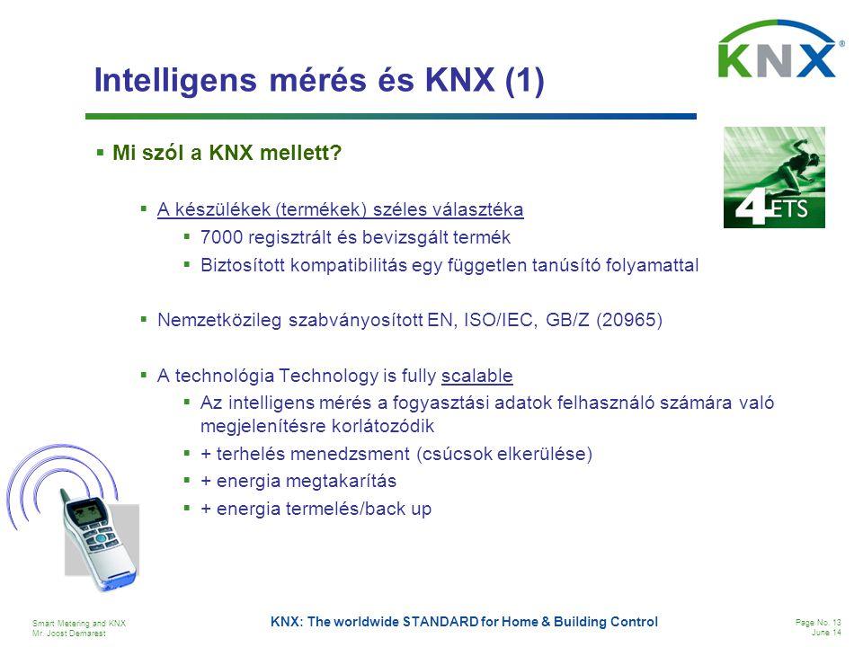 Intelligens mérés és KNX (1)