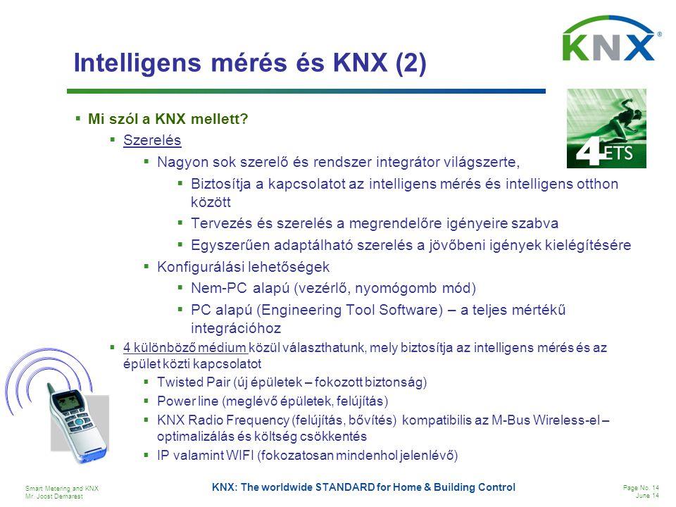 Intelligens mérés és KNX (2)