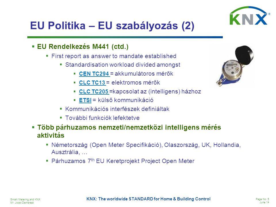 EU Politika – EU szabályozás (2)