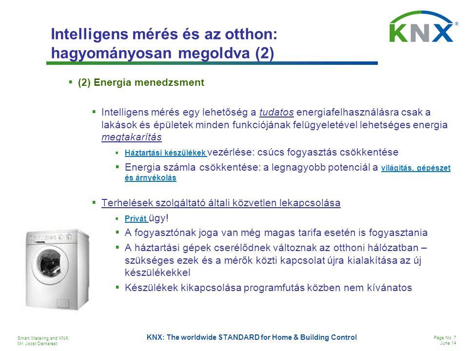 Intelligens mérés és az otthon: hagyományosan megoldva (2)