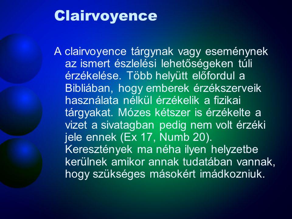 Clairvoyence