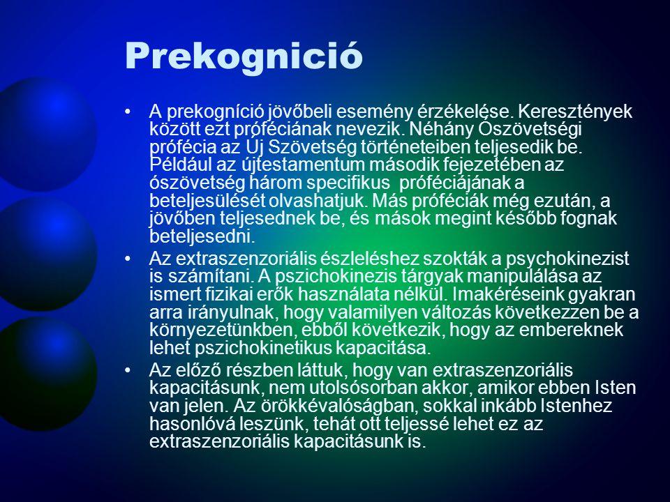 Prekognició
