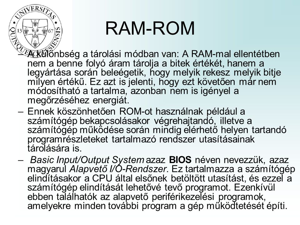 RAM-ROM