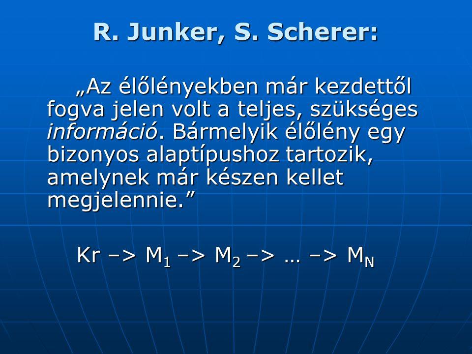 R. Junker, S. Scherer: