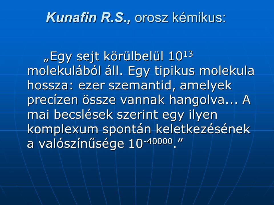 Kunafin R.S., orosz kémikus:
