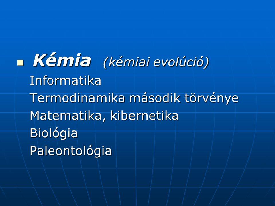 Kémia (kémiai evolúció)
