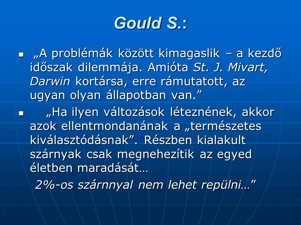 Gould S.: