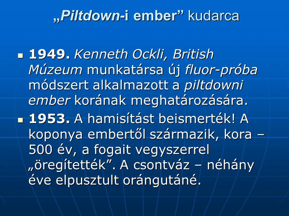 """Piltdown-i ember kudarca"