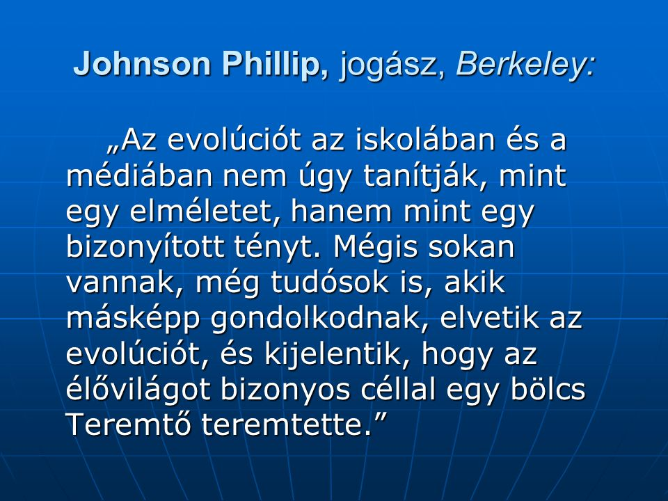 Johnson Phillip, jogász, Berkeley: