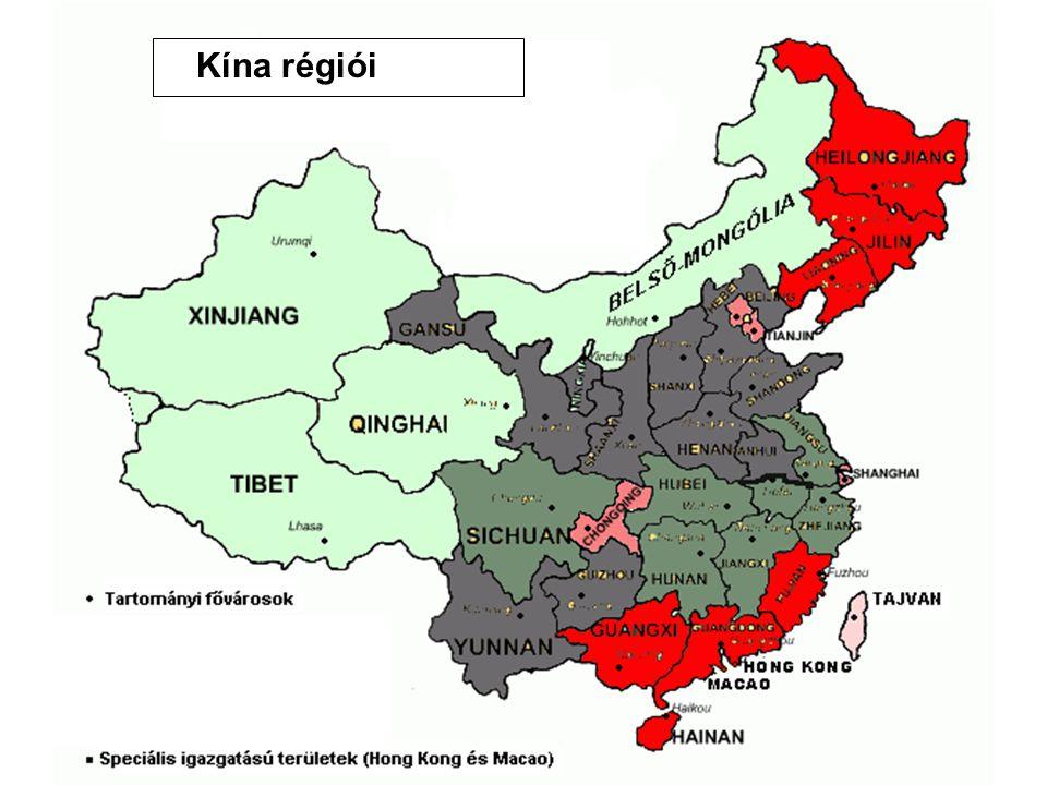 Kína régiói