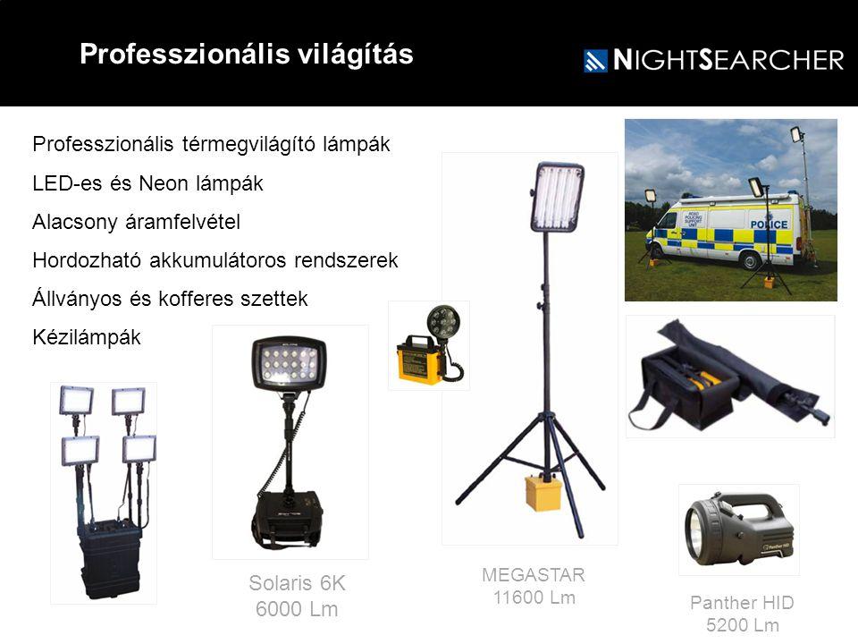 Professzionális világítás