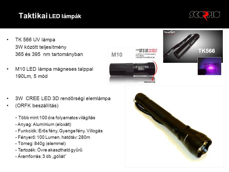 Taktikai LED lámpák TK566 M10 TK 566 UV lámpa 3W között teljesítmény