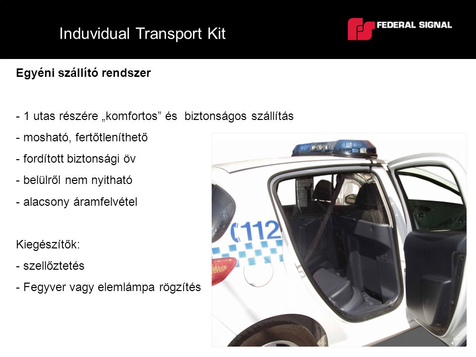 Induvidual Transport Kit