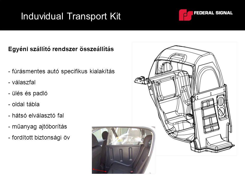 Induvidual Transport Kit