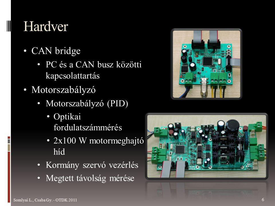 Hardver CAN bridge Motorszabályzó