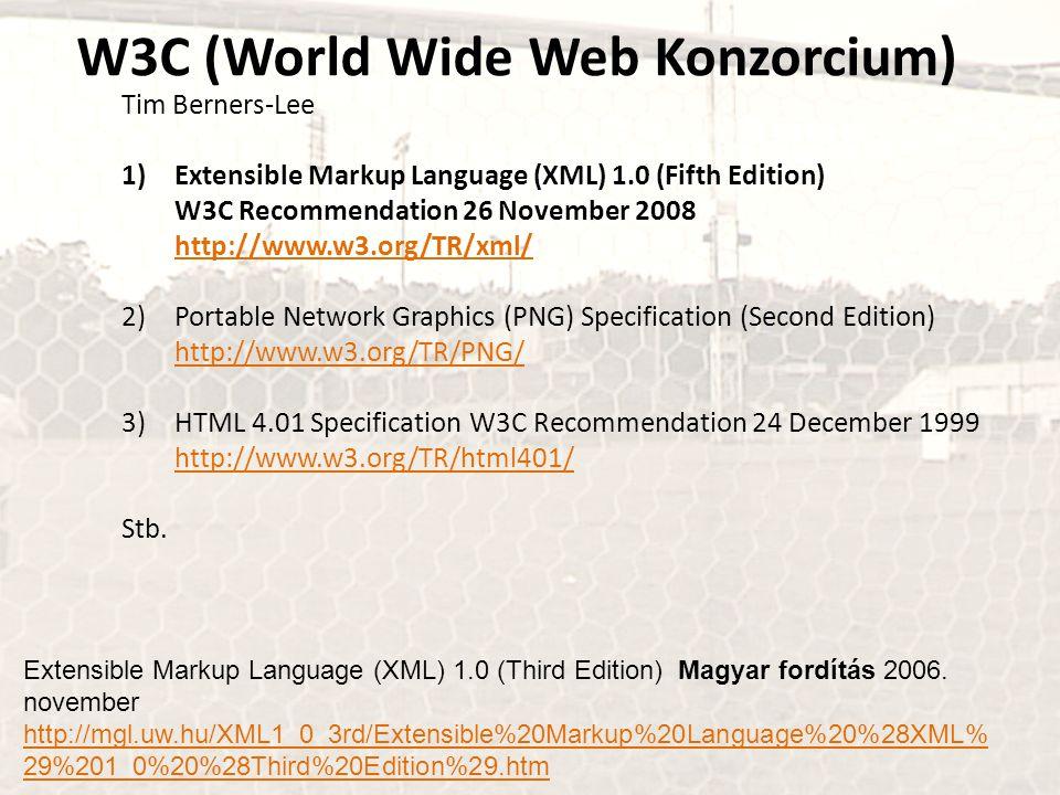 W3C (World Wide Web Konzorcium)