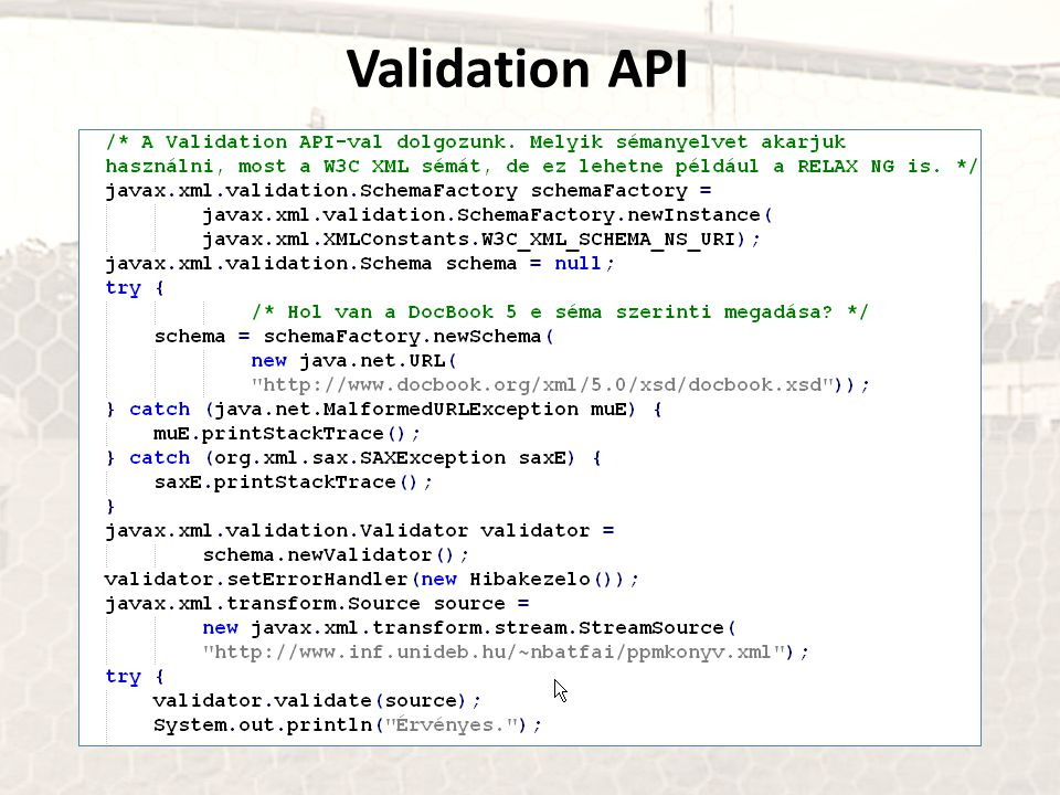 Validation API