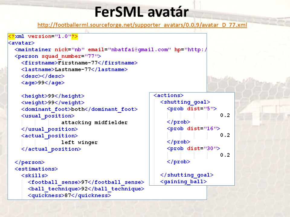 FerSML avatár http://footballerml.sourceforge.net/supporter_avatars/0.0.9/avatar_D_77.xml