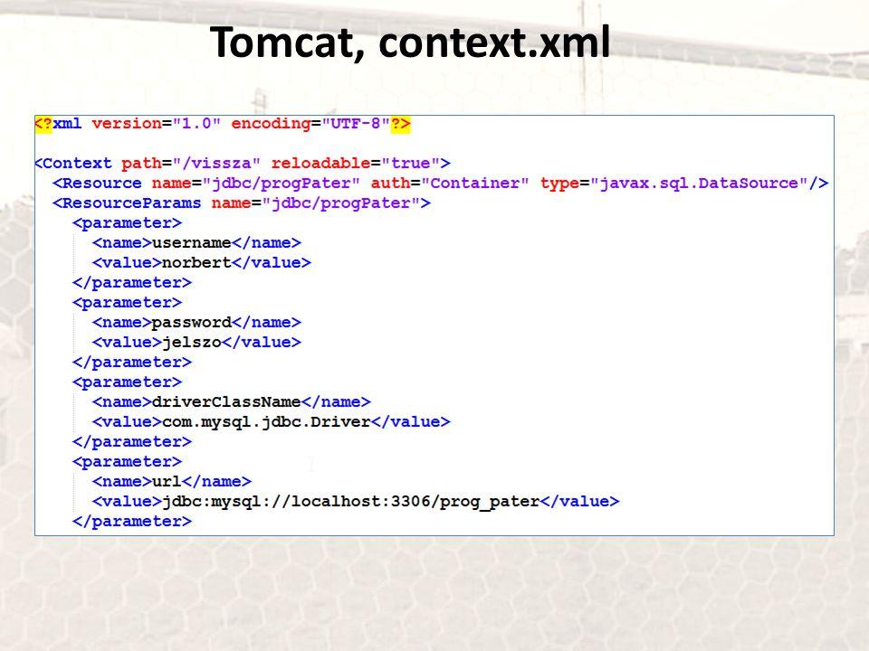 Tomcat, context.xml