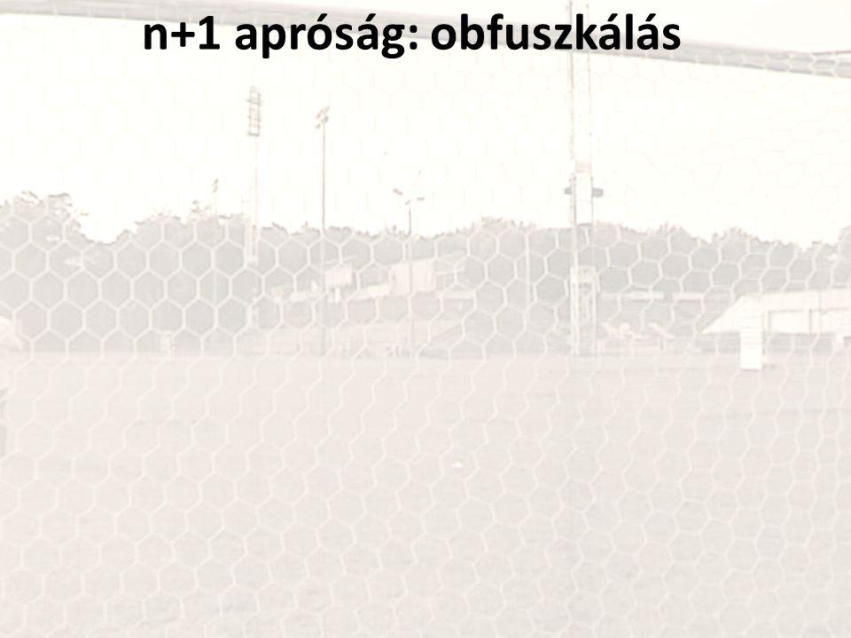 n+1 apróság: obfuszkálás