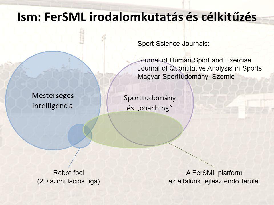 Ism: FerSML irodalomkutatás és célkitűzés