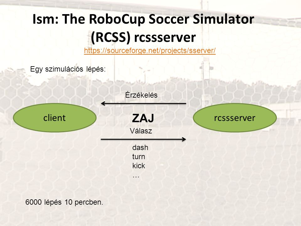 Ism: The RoboCup Soccer Simulator (RCSS) rcssserver