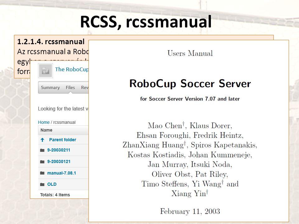 RCSS, rcssmanual 1.2.1.4. rcssmanual
